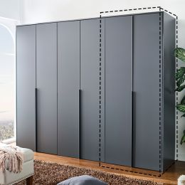 WD-5000-Grey-01  Single Closet