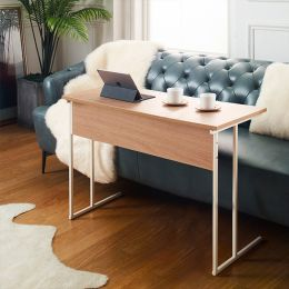 Mona-1000-Ivy-Oak Sofa Desk  (H=65cm)
