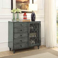22501 1 Door 5 Drawer Cabinet