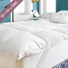 Goose Down Topper-1100 Super Single Mattress Topper (Mattress Size: 1100mm x 2000mm)~(최고급)~