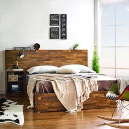 Maru-Q-Bed  Queen Bed w/ Headboard