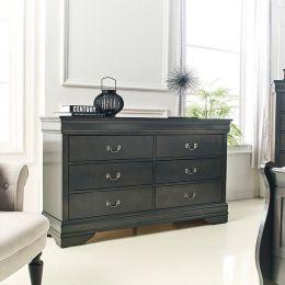 Louis-Grey-DR Drawer Dresser