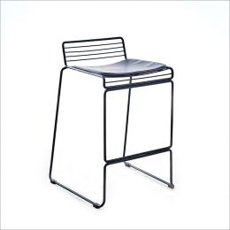 5007E-Black  Bar Chair
