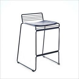 5007E-Black  Bar Chair