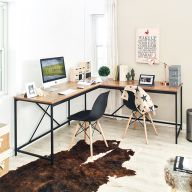 L-Black-Zone Corner Desk