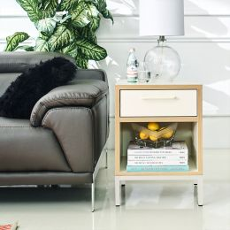 Vera-Ivory Side Table