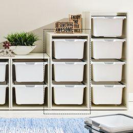 Melody-Wht-3W  Storage Box