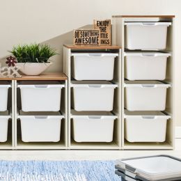 Melody-Oak-9W  Storage Box  (3 Pcs)