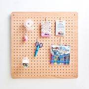Mega-Brown  Peg Board  w/ 12-Hook