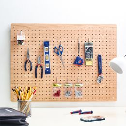 L-Mega-Brown  Peg Board  w/ 12-Hook