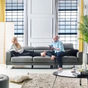 Lisiny-Grey-4  Top Leather Sofa