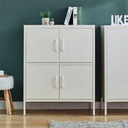 LLC-53-White  Metal Cabinet