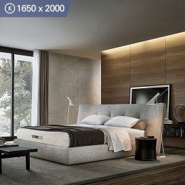 Better-1650-USAKing  Memory Foam Mattress  (상단)