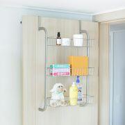 Fassi-3-Silver  3-Door Shelf