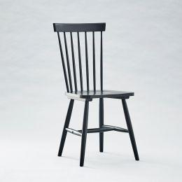 Vanka-Black Wooden Chair
