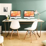 R-IK-Large-RG-Ivy-D  Large Desk  +++No Bending Structure+++