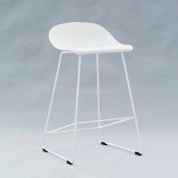 PC-148A-White  Bar Chair