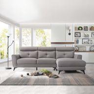 040-SS  Sofa w/ Chaise Lounge