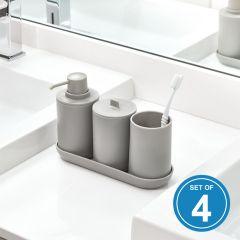 28733ES Bath Accessories  (4 Pcs)