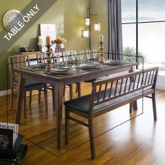 Miso-6-Walnut  Dining Table