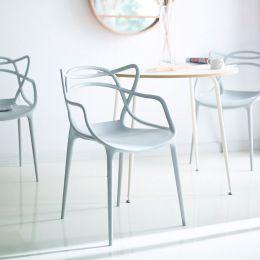 PP-601-Light Grey  Chair