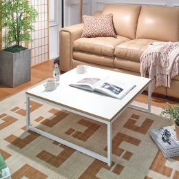 T-790-Ivory-Ivory  Coffee Table