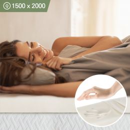 Memory Foam-10-1500   (두께=10cm)   Queen  Mattress Topper 1500