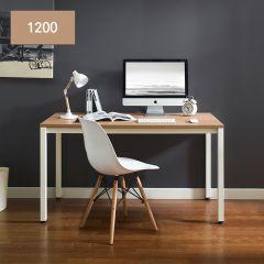 M-1200-Oak  Metal Desk