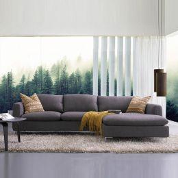 Talida-Grey  Sofa w/ Chaise