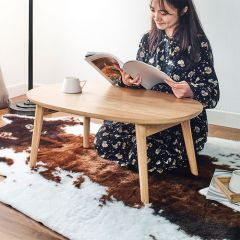 Bed Tray-Oak  Foldable Table