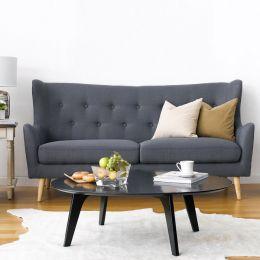 Kamma-Grey  3-Seater Sofa