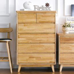 NB-Natural-5DR  5-Drawer Chest