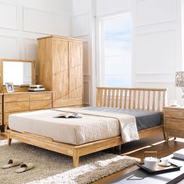 NB-Natural-QB  Queen Bed