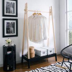Hali-Black  Clothes Hanger