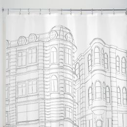 56920ES  Shower Curtain  (Size: 183cm x 183cm)