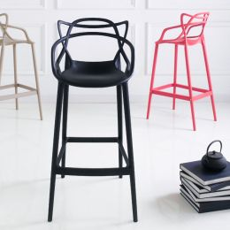 PP-601C-Black  Bar Chair