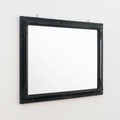 Sanne-Rect-Black  Wall Mirror