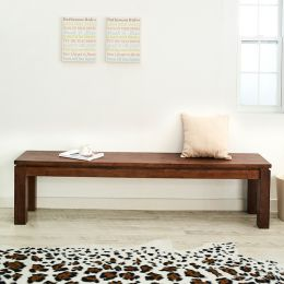 Ocean-Walnut-LB  Long Wooden Bench  (L=180cm)