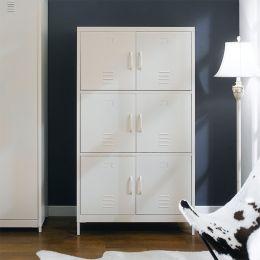 LLC-160-Ivory  Metal Cabinet