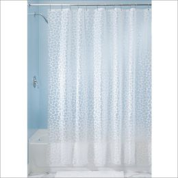 26580EJ  Pebblz PEVA Shower Curtain