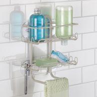 60465EJ  Classico Suction Shower Shelves