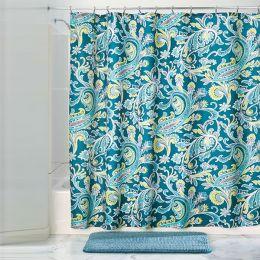 64520EJ  Harper Paisley Shower Curtain