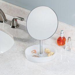 09563EJ  Gina Vanity Mirror-Rotating Tray