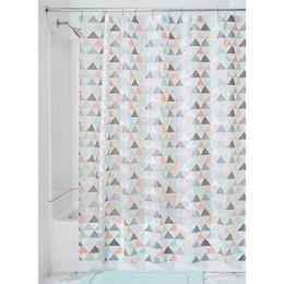 59480EJ  Triangles PEVA Shower Curtain