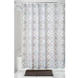 65120EJ  Vintage Tile Shower Curtain