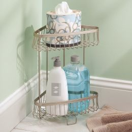 62855EJ  York Lyra 2 Tier Shower Shelf