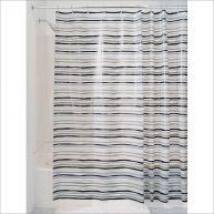 29496EJ  Stripz PEVA Shower Curtain