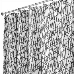 36994EJ  Abstract Shower Curtain