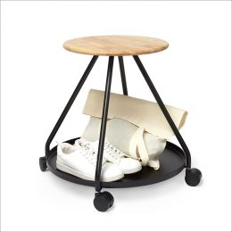 1010206-045  Storage Stool-Black