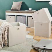 YK-0210011-Beige  Foldable Box